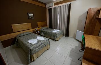 Prisma Plaza Hotel Taubaté Quarto-duplo-solteiro